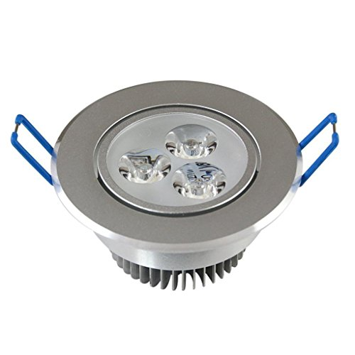 Dn Ultra Bright 3X1W Led Downlight Recessed Ceiling Light Fixtures Cool White