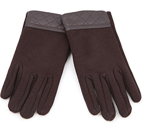 Men's Thicker Warm Gloves IpadIphone Can Be Touched Winter (Brand New World Walking Rope compare prices)