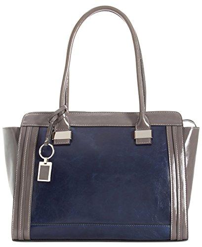 giani-bernini-glazed-leather-tote-handbag-marine-blue-grey