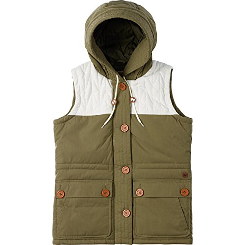 Burton Women's Geneva Vests, Olive Night, Large