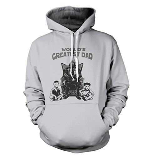 Worlds Greatest Father Vader Hoodie Skywalker Princess Luke Star Leia Wars Darth