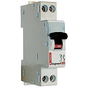 Legrand LEG406775 Disjoncteur dnx 4500 Vis/Vis U+N 230 V 20 A 4,5 kA Courbe C 1 m