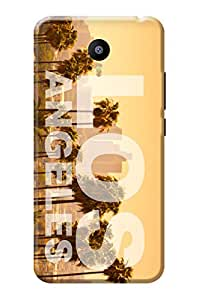Meizu m3 Note Back Cover KanvasCases Premium Designer 3D Printed Lightweight Hard Case