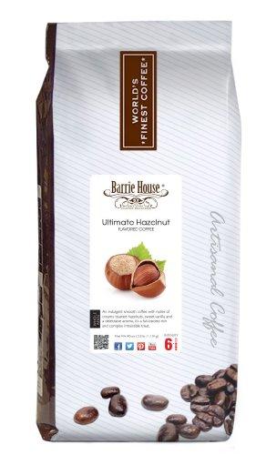 Barrie House Ultimate Hazelnut Coffee, whole bean 2.5 lb. bag