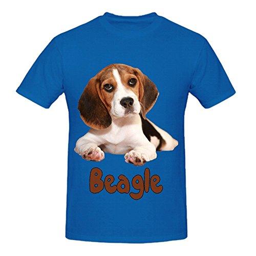 the-beagle-dog-mens-crew-neck-customized-tee-blue