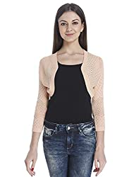 Only Women slim Fit Casual Shrug