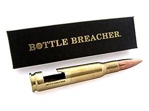 50 caliber bottle breacher vintage bottle opener with gift box kitchen dining. Black Bedroom Furniture Sets. Home Design Ideas