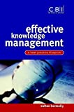 img - for Effective Knowledge Management: A Best Practice Blueprint (CBI Fast Track) book / textbook / text book