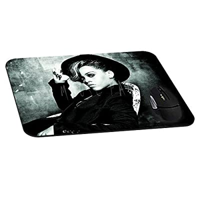 Dark Photos Rihanna Artist Mousepad actor actress celebrity Mouse Pads Diy Mat Unique Design Custom Mousemat