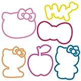 Silly Bandz Hello Kitty (ハローキティ) Pack -- 24 Bands シリーバンズ ハローキティパック -24個