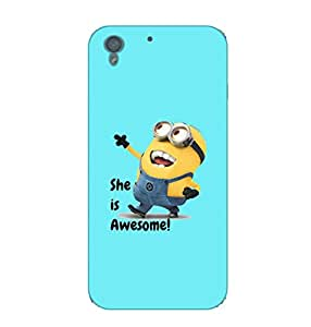 Happoz Designer Cute Cartoon Disney Hard Back Case for HTC Desire 728 D057