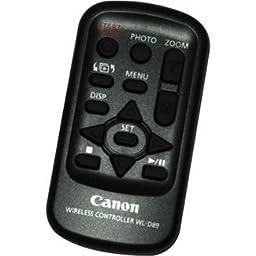 Canon Wireless Controller WL-D89 for XF105, XF100, XA25, XA20, XA10 Professional Camcorder