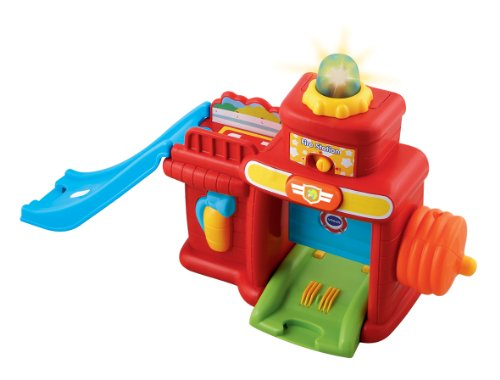 VTech Toot Toot Drivers Fire Station Toy Pre School Birthday Christmas Gift