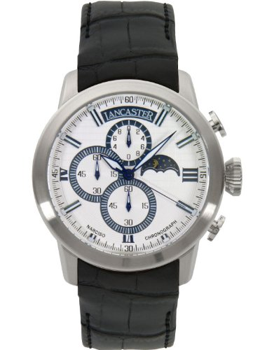 Lancaster NARCISO quartz unisex reloj blanco