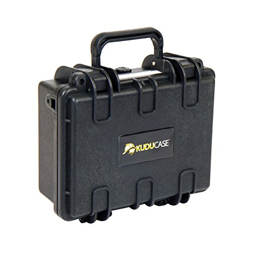 Kuducase 2 Waterproof Protective Equipment Hardcase, Black, Small