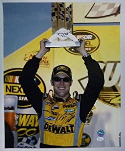 Autographed Matt Kenseth Photo - DEWALT 16x20 K45264 - JSA Certified - Autographed...