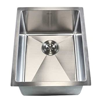 "Ariel 16"" x 20"" Single Bowl Undermount Kitchen Sink"