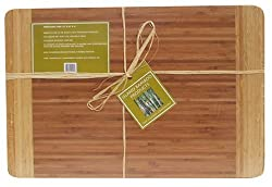 Island Bamboo 12-by-18-Inch Cutting Board