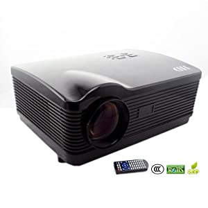 Dbpower 3d projector support all 16 9 1080p hd 3000 for Hd projector amazon