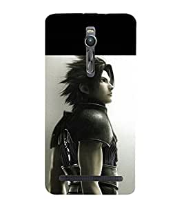 printtech Fantasy Anime boy Back Case Cover for Asus Zenfone 2 / Asus Znfone 2 ZE550ML