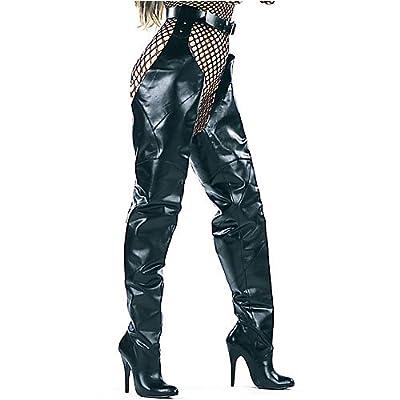 "Amazon.com: Ellie Shoes Women's ANGIE 5"" Heel Leather Chap Boot"