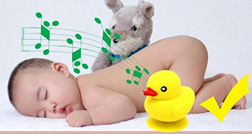 nuby rubber ducky speaker musical bathtime bluetooth shower speaker m. Black Bedroom Furniture Sets. Home Design Ideas