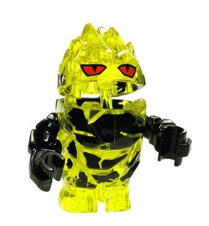 Rock Monster Combustix (Yellow w/ Black Arms)- LEGO Power Miners Minifigure - 1
