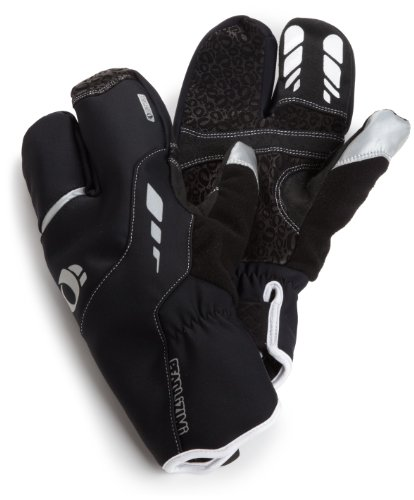 PEARL iZUMi Pro Softshell Lobster Glove Full finger gloves Gentlemen black (Size: S)