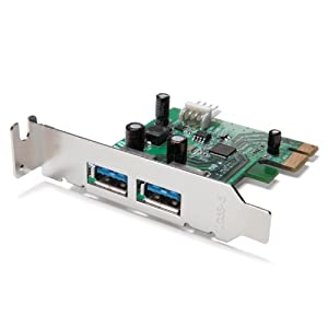 Buffalo USB 3.0 2-Port PCI-Express Interface Board (IFC-PCIE2U3S2)