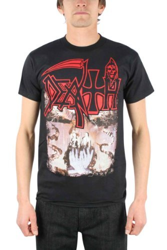 Death - Symbolic Adulto T-Shirt, X-Large, Nero