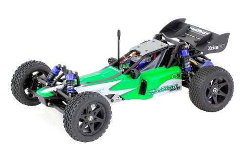 XciteRC-30303000-RC-Auto-SandStorm-one10-2WD-Ready-To-Race-Dune-Buggy-Brushless-Modellauto-110-mit-24-GHz-Fernsteuerung-grn