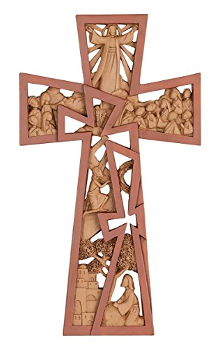 Christ is Risen Easter Wall Cross