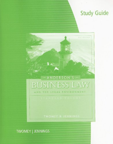 Chapter 1 Study Guide (PDF) - Business Law Chap 1 Study ...