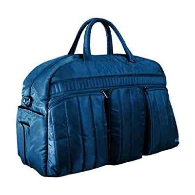 Navy blue holdall large travel bag weekend bag Shuttle Bus bag by Lug from Lug