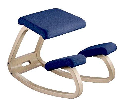 Variable Furniture Balans The Original Kneeling Chair Varier Variable Furniture Balans The Original Kneeling Chair (Mid Navy ...