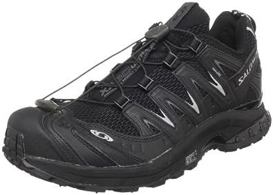 Salomon Men's XA Pro 3D Ultra 2 Running Shoe,Black/Black/Autobahn,7 M US