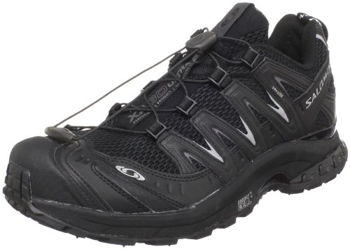 Salomon Men's XA PRO 3D Ultra 2 Trail Running Shoe,Black/Black/Autobahn,9 M US