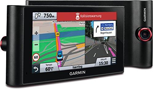 Garmin nüviCam LMT-D Navigationsgerät mit Karten für Gesamteuropa, DashCam, DAB+ und Fahrerassistenzsymstemen