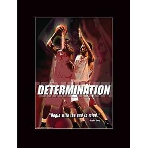 Determination Motivational Poster on Com  Basketball Motivational Poster Determination  Everything Else