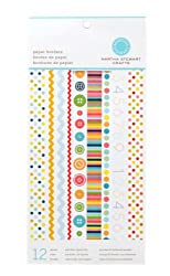 Martha Stewart Crafts Paper Borders 6'' X 12'' Brights By The Package