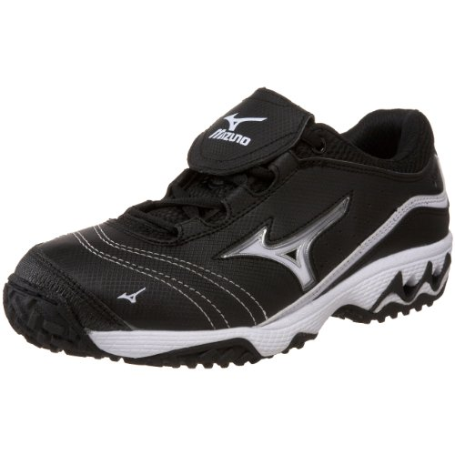 Mizuno Women'S Elite Trainer Fp Switch Athletic Shoe,Black/White,11 M Us front-401924