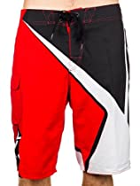 Fox Racing Spike Sym Boardshorts - 30/Flame Red