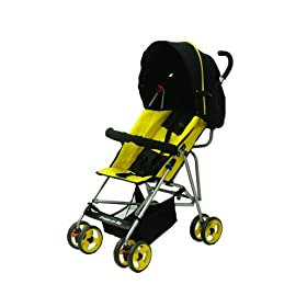 Dream On Me Single Stroller with large Canopy