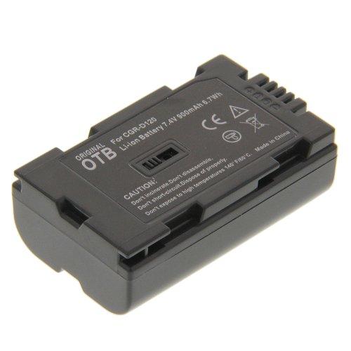 Power Li-Ion Akku Typ D120 (kein Original) für Panasonic NV-GS7 NV-GS8 NV-GS11 NV-GS15 NV-MX1 NV-MX2 NV-MX30 NV-MX300 NV-MX350 NV-MX5 NV-MX500 NV-MX7 NV-MX8 AG-DVX100 NV-EX21 NV-DS990EG NV-GX7 PV-DV710 NV-GS1 AG-DVC30 AG-DVC60 AG-DVX100A NV-DX3 NV-DS35 EG NV-GS8EG NV-GS11EG NV-GS15EG NV-MX3 PV-DV100