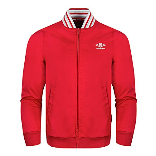 Umbro -  Giacca sportiva - Uomo Red Medium