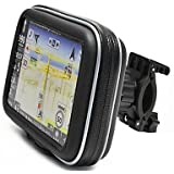 "Garmin Gps: Waterproof Bike/bicycle/motorcycle Case & Mount Handlebar for 5"" Garmin Nuvi GPS"