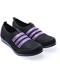 ADVICE Women BlkPur Casual Shoes AD-16
