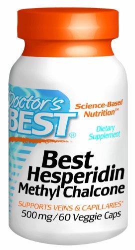 Doctor'S Best Hesperidin Methyl Chalcone 500 Mg, 60 Count
