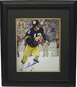 Terry Bradshaw Autographed Hand Signed Pittsburgh Steelers 16x20 Photo Custom Framed... by Hall of Fame Memorabilia