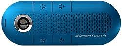 Supertooth Crystal Bluetooth Car Speakerphone (Blue)